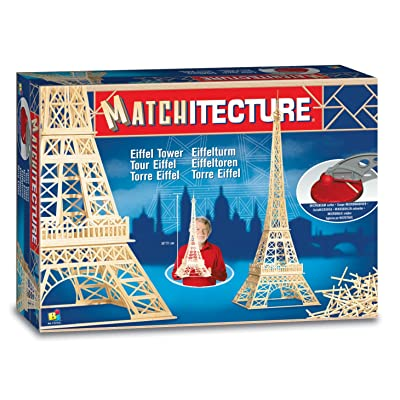 Bojeux Matchitecture - Eiffel Tower Toy, Blue: Toys & Games [5Bkhe0412987]
