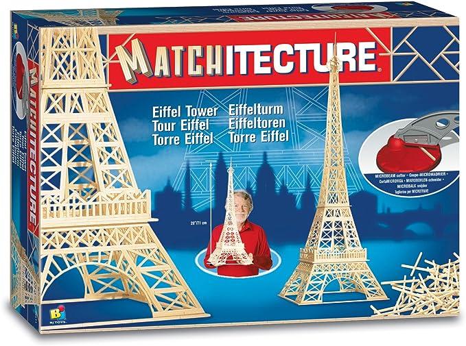 Matchitecture - Maqueta de la Torre Eiffel: Amazon.es: Juguetes y juegos