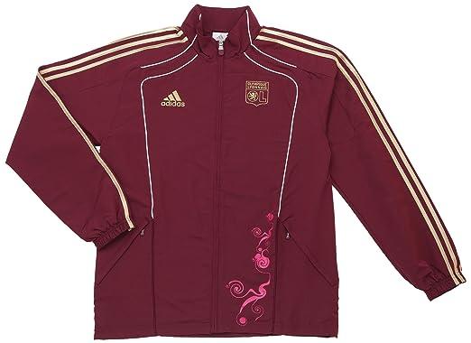 adidas OL PRES Suit – Chándal de fútbol para Hombre del Olympique ...