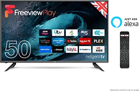 """Cello C50FVP 50"""" Full HD LED TV Made In The UK with Alexa"""