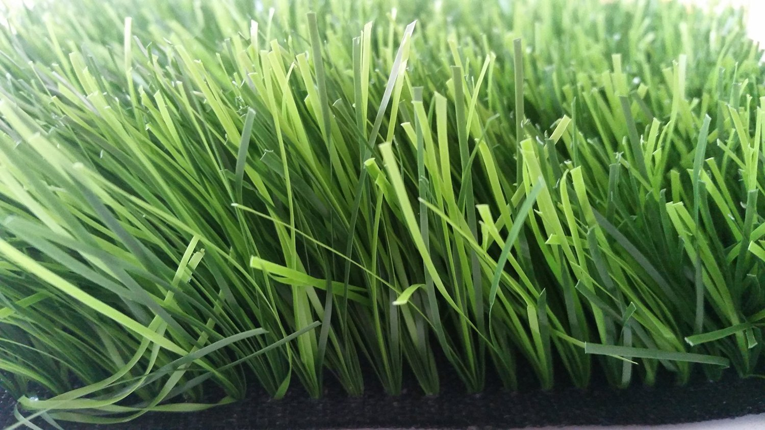 Zen Garden Tall, Premium Synthetic Grass Rubber Backed with Drainage Holes, Blade Height 2.4'' (60mm), 73 oz/sq. yard, 12 ft x 10 ft