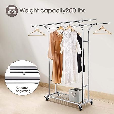 Amazon.com: Simple Trending - Perchero para ropa, resistente ...