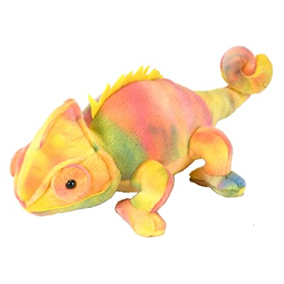 Wild Republic Chameleon Plush, Stuffed Animal, Plush Toy, Gifts for Kids, Cuddlekins 8 Inches: Toys & Games