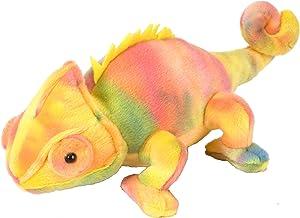 Wild Republic Chameleon Plush, Stuffed Animal, Plush Toy, Gifts for Kids, Cuddlekins 8 Inches
