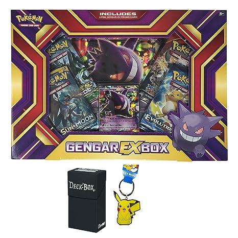 Card Games & Poker Other Card Games & Poker Play Pokemon Mega Gengar Deck Box