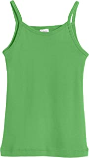 product image for City Threads Girls' 100% Cotton Camisole Cami Tank Top Tee - Made in USA
