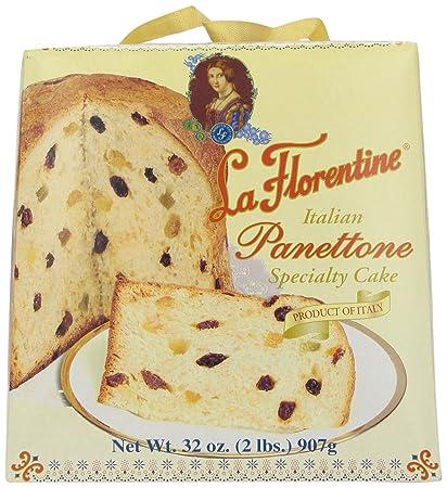 La Florentine Panettone, Italian Specialty Cake, 32 Ounce