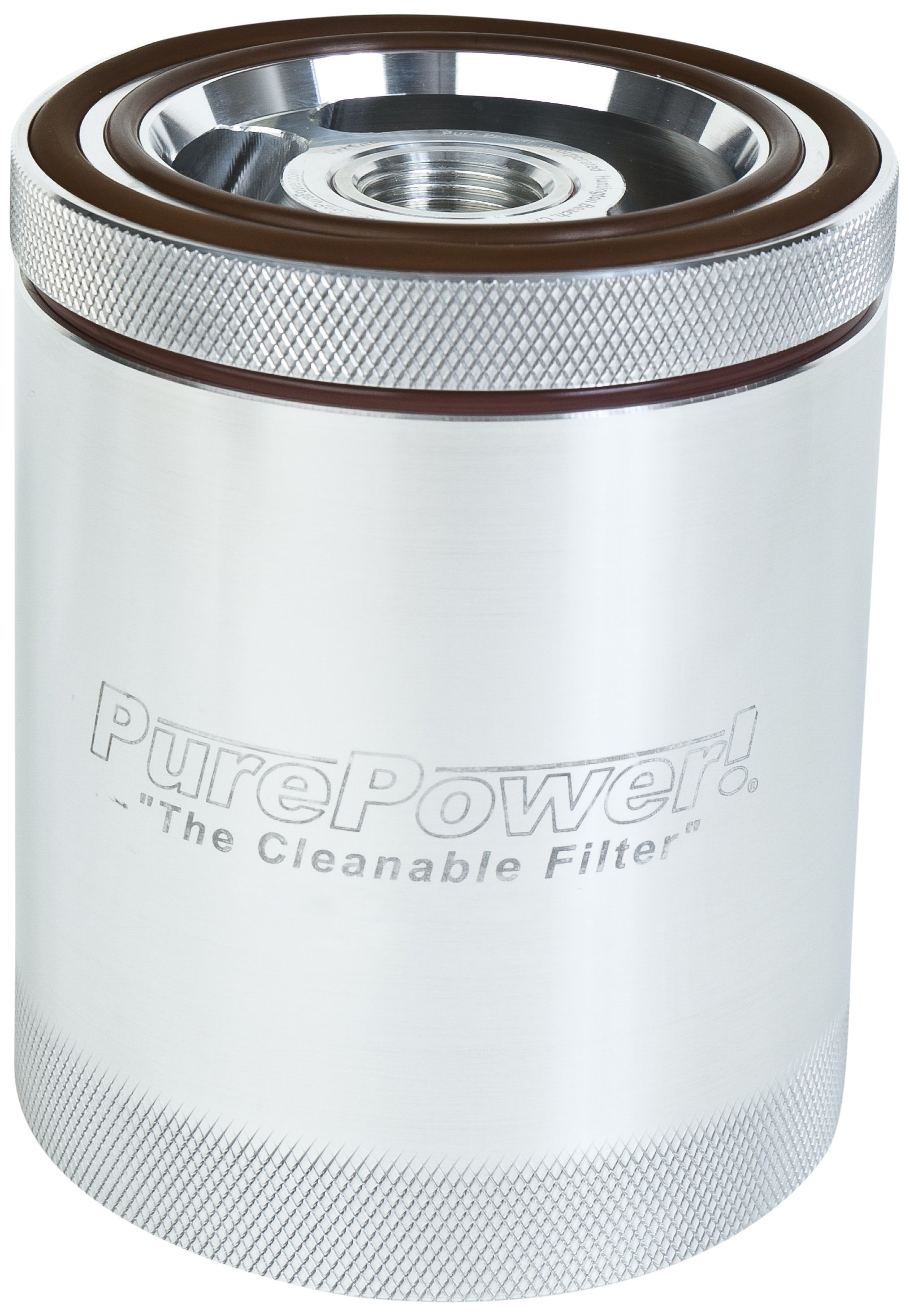 Pure Power Lifetime Filters PP8440 OE Replacement Spin-On Lifetime Oil Filter with Emergency Relief Valve