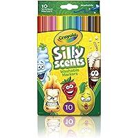 Crayola Silly Scents Keçeli Boya Kalemi, 10'lu