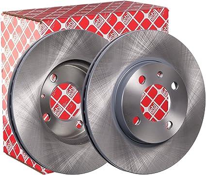 Set de 2 Brembo 09.7011.1X Rotores de Discos de Frenos