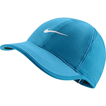 00dd9e4fb24 Image Unavailable. Image not available for. Color  Nike Women s Court AeroBill  Featherlight Tennis Cap ...
