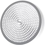 LEKEYE Easy Clean Shower Stall Drain Protector /Hair Catcher /Strainer-Steel & Silicone
