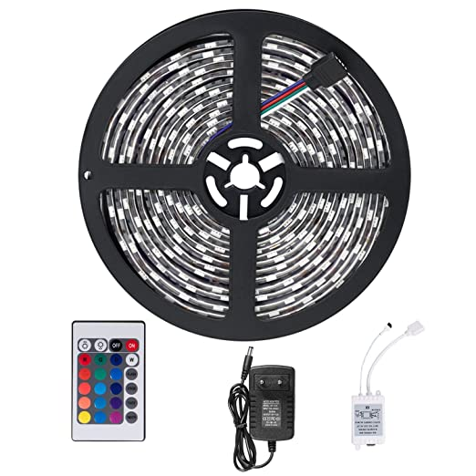259 opinioni per SENDIS LED STRISCE 5M impermeabile telecomando 3528 RGB SMD striscia dei 300 LED