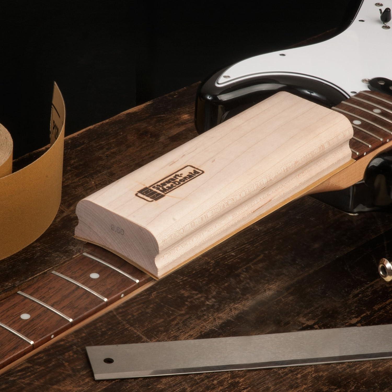 Set of 5 Essential Radii StewMac 8-Length Wooden Radius Sanding Blocks