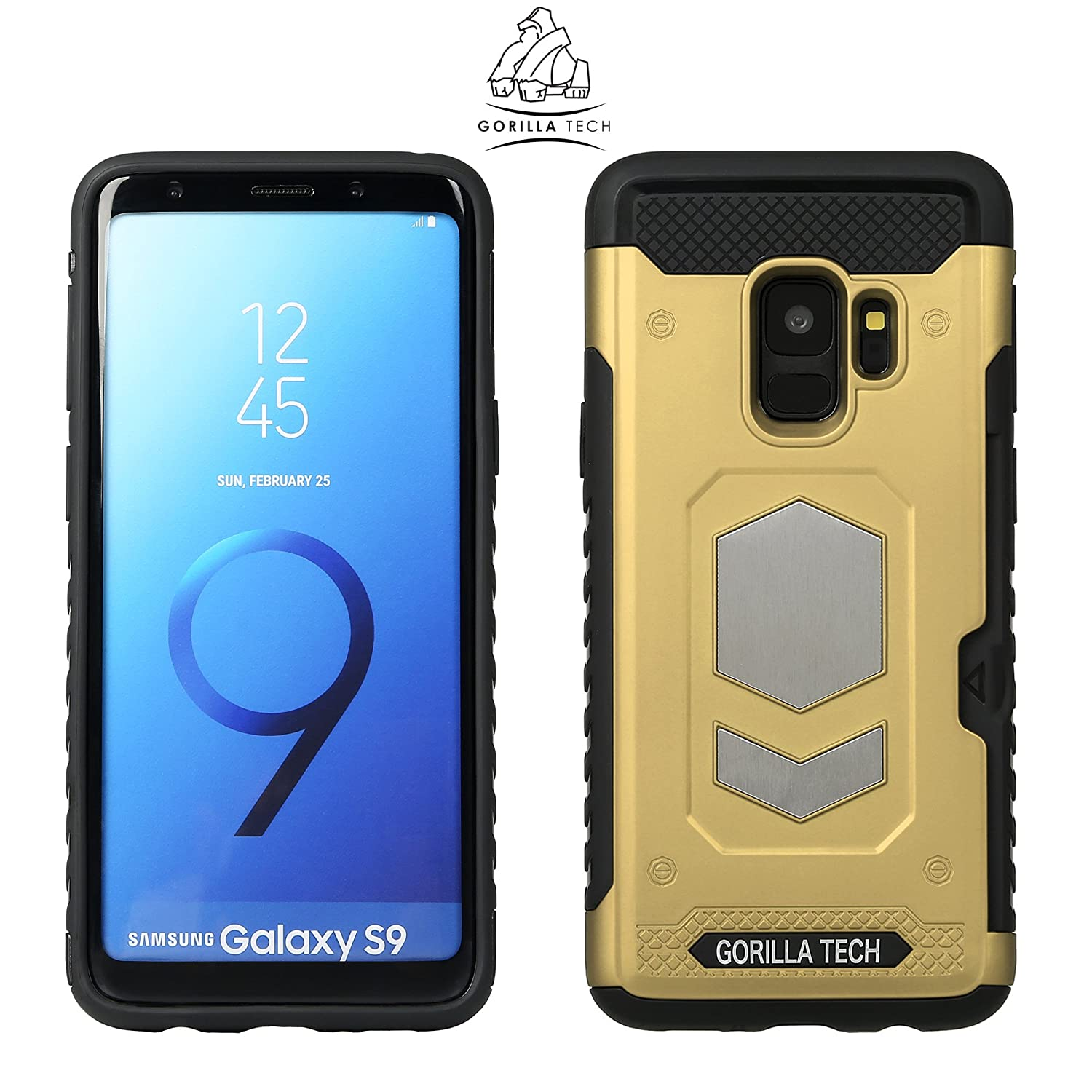low priced 9b785 2cd2e Gorilla Tech Apple iPhone 6S Slim Armour Case Dual Layer Protection Best  Shockproof Cover