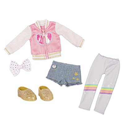 "Glitter Girls by Battat - Have A Gradient Day! Outfit -14"" Doll Clothes– Toys, Clothes & Accessories For Girls 3-Year-Old & Up: Toys & Games"