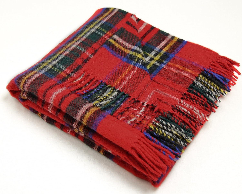 Amazon.com: Tweedmill Textiles Royal Stewart Tartan Premium Wool ...