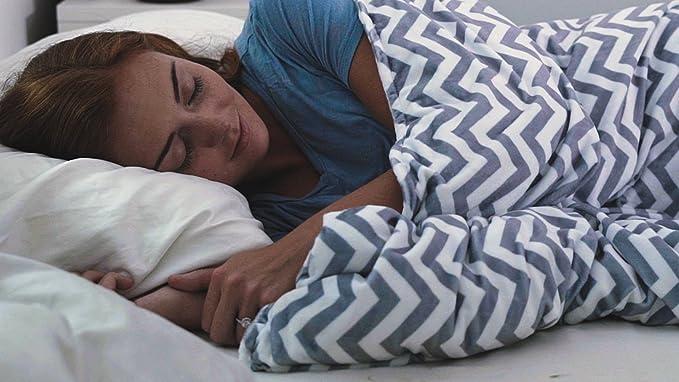 warmembrace manta pesada para mejor, más saludable dormir - Reduce ...
