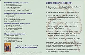 photo about How to Pray the Rosary Printable Version called : How in direction of Pray the Rosary Holy Card Fold About
