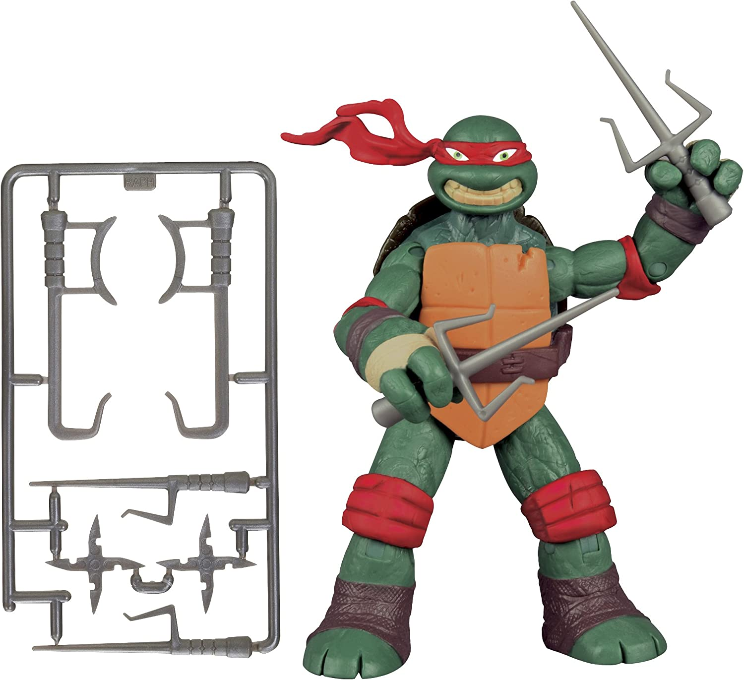 Amazon Com Teenage Mutant Ninja Turtles New Deco Raphael Figure