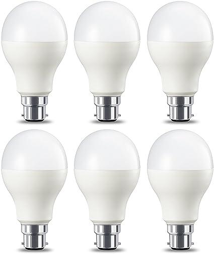 AmazonBasics Bombilla LED B22, 14W (equivalente a 100W), Blanco Cálido, Regulable