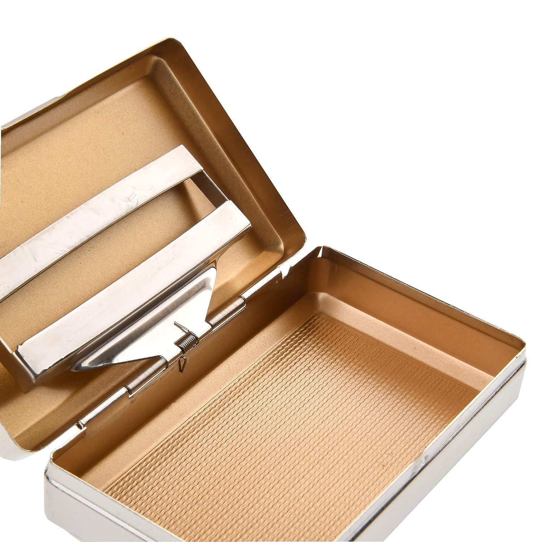 tambi/én Adecuado como pitillera Mod Quantum Abacus Tabaquera de Metal con Soporte para el Papel 001-03 Elegancia cl/ásica