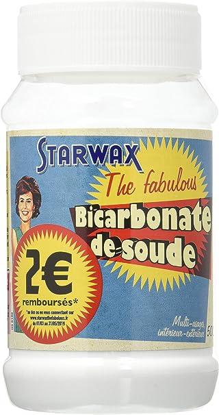 Bicarbonato de Soda – Starwax la fabulosa – 500 g 318537: Amazon.es: Bricolaje y herramientas