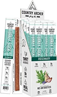 product image for Rosemary Turkey Sticks by Country Archer, Antibiotic Free, Certified Keto, Paleo, Gluten Free, 24 Count