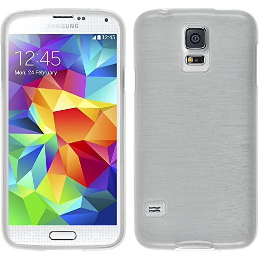 36 opinioni per PhoneNatic Custodia Samsung Galaxy S5 mini Cover bianco brushed Galaxy S5 mini