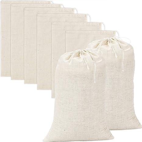 Amazon.com: pangda 20 piezas grande bolsas de muselina ...