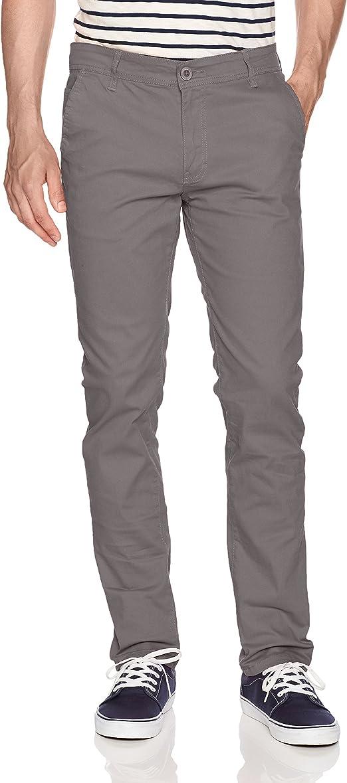 WT02 Pantalones Largos elásticos para Hombre