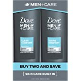 Dove Men+Care Body and Face Wash, Clean Comfort 18 oz