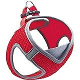 Kruz PET KZA308 Reflective V-Neck Step In Mesh Dog Harness - No Pull, Quick Fit, Comfortable, Velcro-Adjustable Pet Harnesses