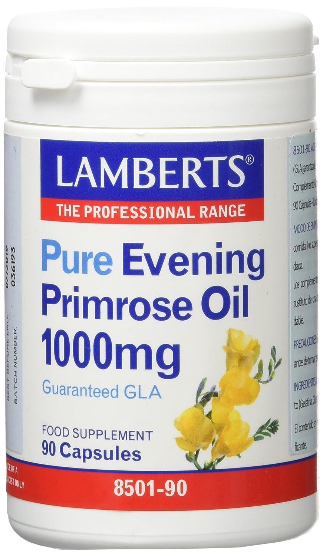 Lamberts Aceite de Primula 1000mg - 90 Capsulas