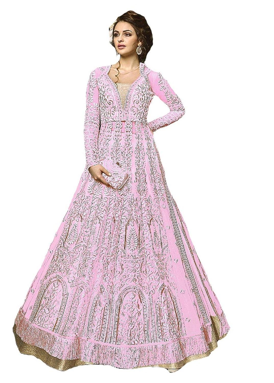 6e53c38f28 Amazon.com: Indian Wear Anarkali Suit Party Wear Zoya 2: Clothing