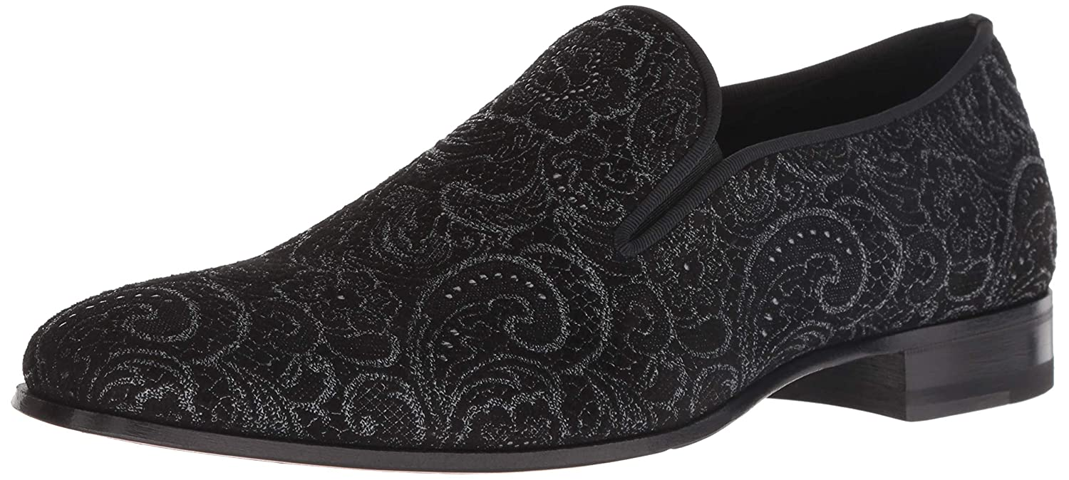 Black Mezlan Mens Damon Loafer