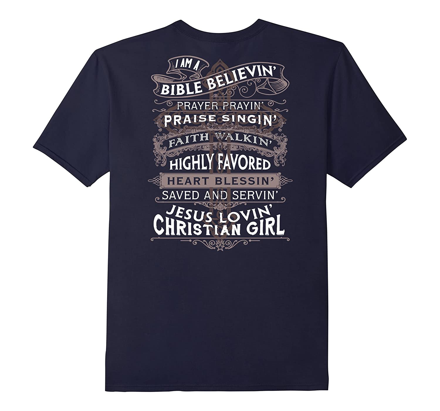 I Am A Bible Believin T-Shirt-CL