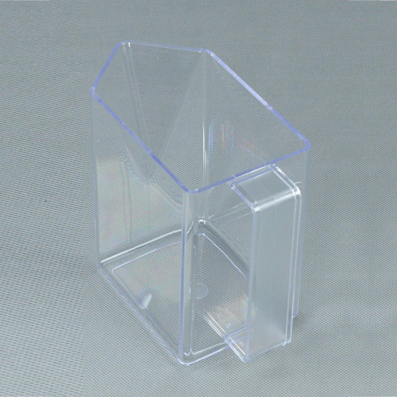 Küchenschütte schütte box ersatz 1 stk glasklar amazon de küche haushalt