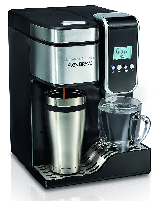 Hamilton Beach FBA_49988 Single-Serve Coffee Maker 1 Black