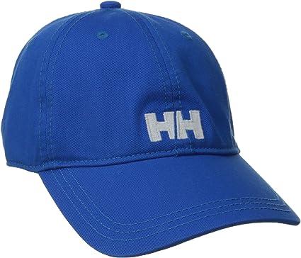 Helly Hansen Logo Cap - Gorra unisex, color azul, talla única ...