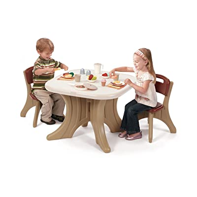 Step2 Traditions Table & Chairs Set: Toys & Games