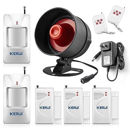 Beautiful KERUI Standalone Home Office U0026 Shop Security Alarm System Kit, Wireless  Loud Indoor/Outdoor