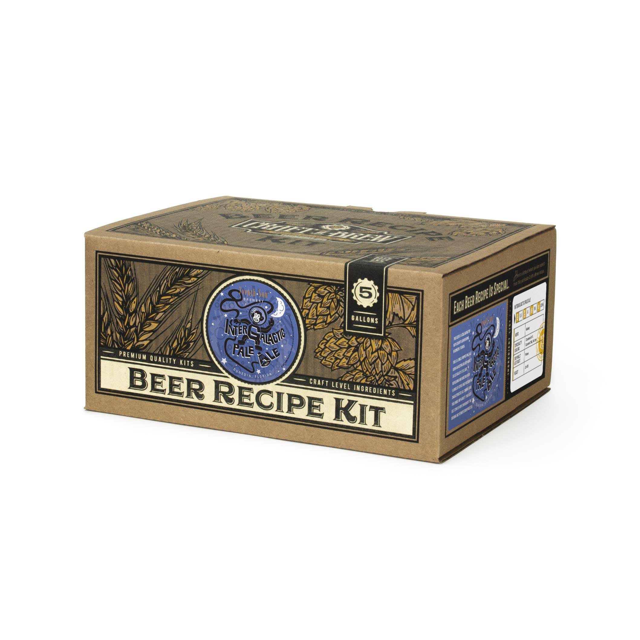 Craft A Brew - Home Brewing Ingredient Kit (5 Gallons) (Intergalactic Pale Ale)
