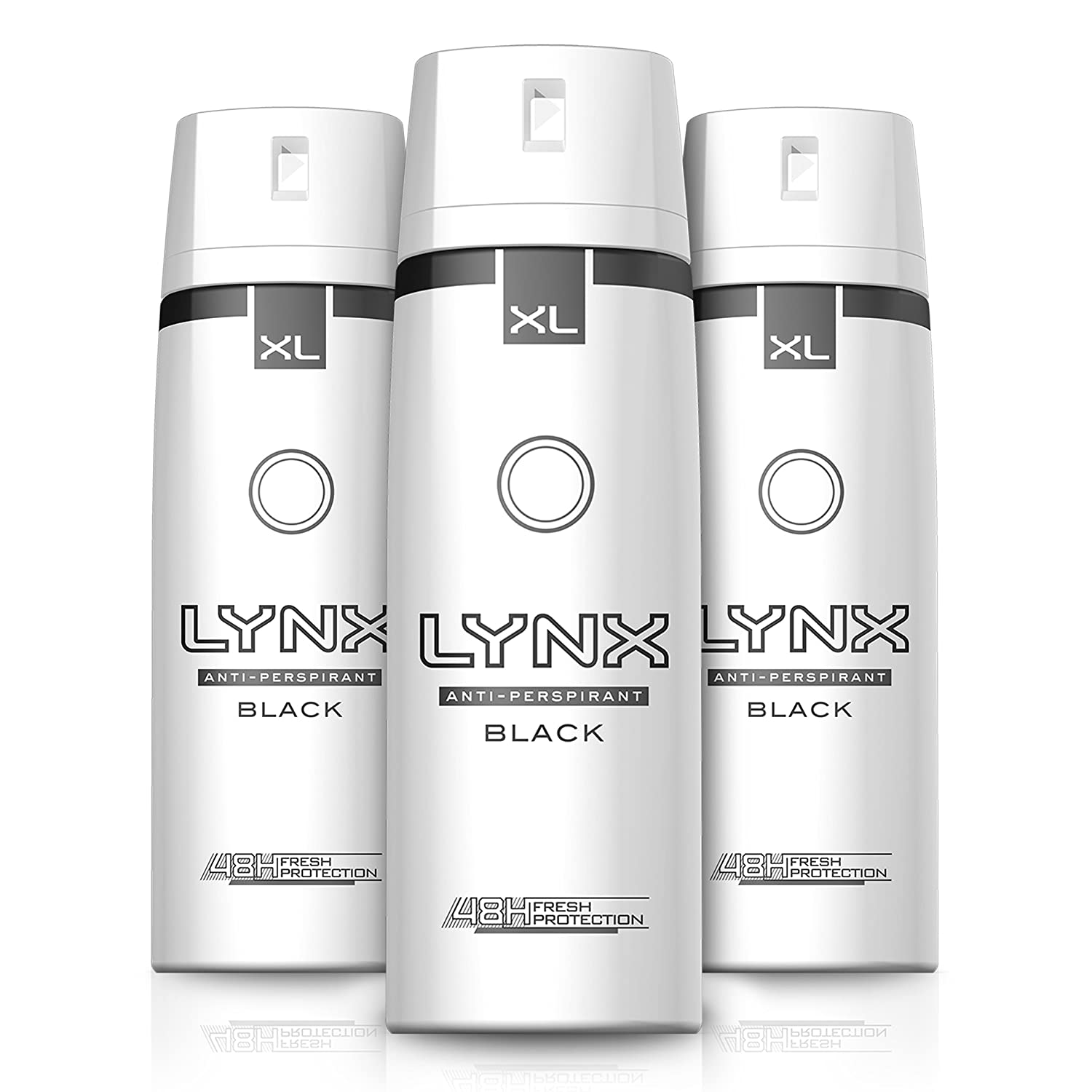 Lynx Dry Black Aerosol Anti-Perspirant Deodorant 200 ml - Pack of 3 Unilever 9029680