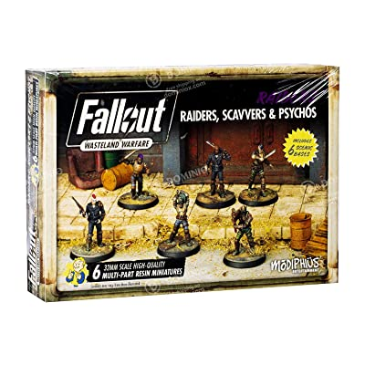 Fallout: Wasteland Warfare - Raiders, Scavvers & Psychos: Toys & Games