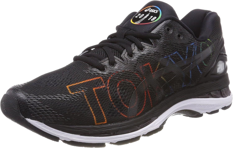 Asics Gel-Nimbus 20 Tokyo Marathon, Zapatillas de Running para Mujer, Negro (Black/Black/White 9090), 37 EU: Amazon.es: Zapatos y complementos