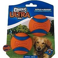 Chuckit! Hundboll, 2 st, Orange/Blå