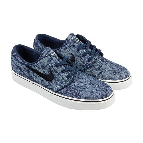 nike sb janoski blue denim skate shoes