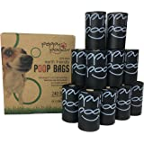 Peppy Pooch Pet Waste Bags - Earth Friendly - Extra Large Poop Bags, 240 Bags (16 Rolls) Unscented