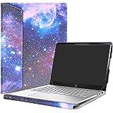 """Alapmk Protective Case Cover for 14"""" HP Pavilion 14 14-bfXXX 14-ceXXX/Pavilion x360 14 14-cdXXX 14M-cdXXX Sereis Laptop(Not fit Pavilion 14 14-bkXXX 14-bXXX/Pavilion 14 x360 14-baXXX),Galaxy"""